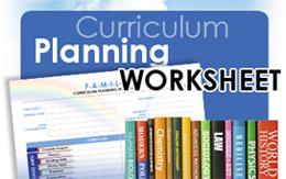 Family Curriculum Planning Worksheet